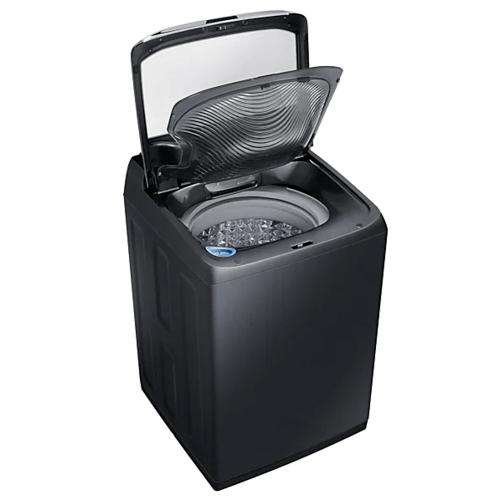 SAMSUNG เครื่องซักผ้าฝาบน 18 กก.  WA18M8700GV/ST สีดำ