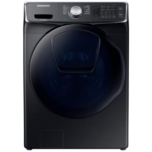 SAMSUNG เครื่องซักผ้าฝาหน้า 17 กก.  WF17N7510KV/ST สีดำ
