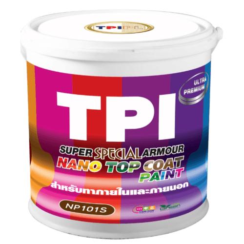 TPI สีทีพีไอ ซูเปอร์ นาโน อาร์เมอร์ เพ้นท์  สีพิเศษ NP101S สีเหลือง