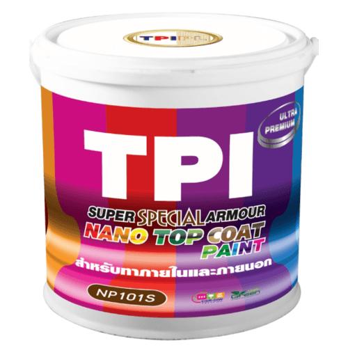 TPI สีทีพีไอ ซูเปอร์ นาโน อาร์เมอร์ เพ้นท์ - W07 NP101S สีขาว