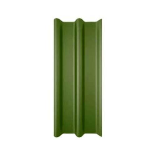 ลอนคู่ 50x120x0.5 ทีพีไอ เขียววิจิตร  เขียว