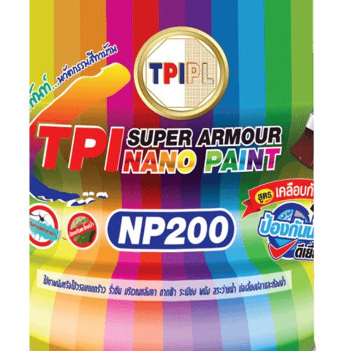TPI สีทากันซึม  NP200-19YW01W สีขาว