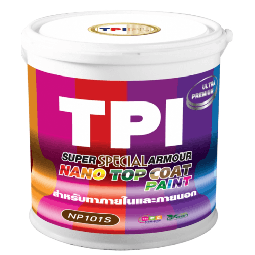 - สีนาโนซูเปอร์สเปเชียลอาร์เมอร์ TPI-Y01สีครีม ขนาด 18.5  ครีม