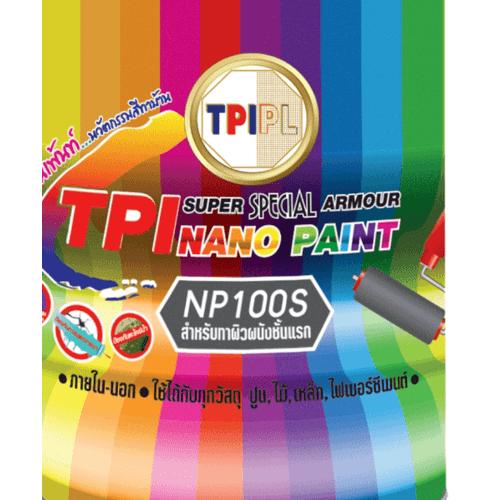 TPI สีทารองพื้น  NP100S สีเทา