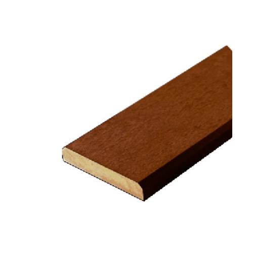 โอฬาร ไม้พื้น ขนาด 2.5x15x300ซม.สีวอลนัท ลบขอบลายเสี้ยน
