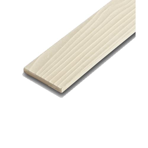 โอฬาร ไม้ระแนง ขนาด 0.8x7.5x300ซม.สีวอลนัท ขอบตรงลายสน
