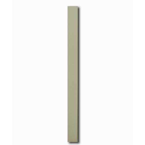 โอฬาร ไม้ระแนง ขนาด 0.8x7.5x300ซม.สีทรายแก้ว ลบเหลี่ยมแบบเรียบ
