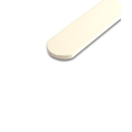 โอฬาร ไม้รั้ว ขนาด 1.2x10x100ซม.สีน้ำตาลมะค่า หัวโค้งมน แบบเรียบ