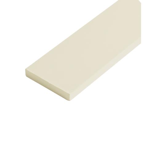 โอฬาร ไม้รั้ว ขนาด  1.2x10x150ซม.สีทรายแก้ว หัวเรียบ แบบเรียบ
