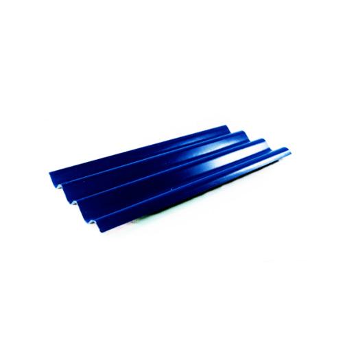โอฬาร กระเบื้อง 0.5x52x120 ซม.  สามลอน สีประกายสมุทร สีน้ำเงิน