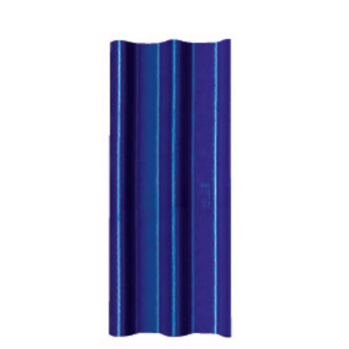 โอฬาร กระเบื้อง 0.5x50x120 ซม. สีฟ้าเลิศนภา (ลูกโลก) ลอนคู่