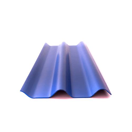 โอฬาร กระเบื้อง 0.5x50x120 ซม. สีประกายสมุทธ (ลูกโลก) ลอนคู่