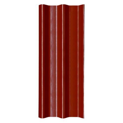 โอฬาร กระเบื้อง 0.4x50x150 ซม. สีหมากแดง (จิงโจ้) ลอนคู่