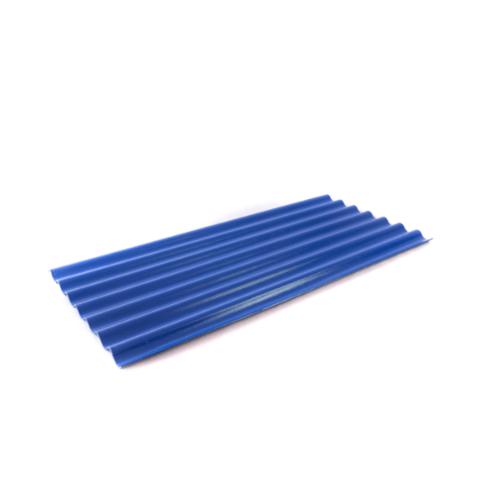 โอฬาร กระเบื้องลอนเล็ก 4 มม. 54*120 ซม.(ลูกโลก) สีฟ้า ลอนเล็ก