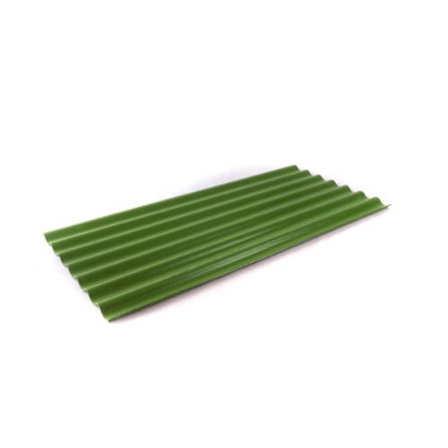 โอฬาร กระเบื้อง 0.4x54x150 ซม. สีเขียวหยก (ลูกโลก) ลอนเล็ก