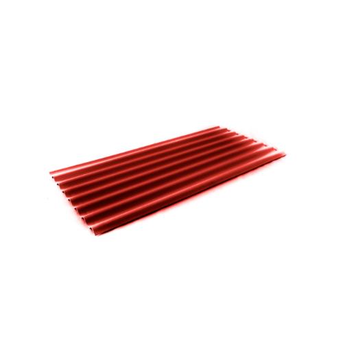 โอฬาร กระเบื้อง 0.40x54x150 ซม. สีแดงรุ่งอรุณ (ลูกโลก) ลอนเล็ก