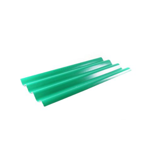 โอฬาร กระเบื้องสามลอน 0.5x50x120 ซม.สีประกายเขียวมรกต (ลูกโลก)