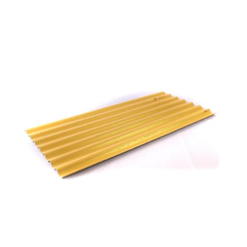 โอฬาร กระเบื้องลอนเล็ก 4มม.54x120 ซม.สีประกายทองคำ ลอนเล็ก