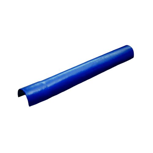 โอฬาร หัวครอบตะเข้ (ลูกโลก) สีฟ้าน้ำทะเล ลอนเล็ก