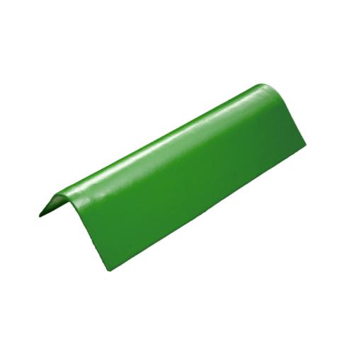 โอฬาร ครอบข้างชนิดสั้น สีเขียวหยก (ลูกโลก) ลอนเล็ก