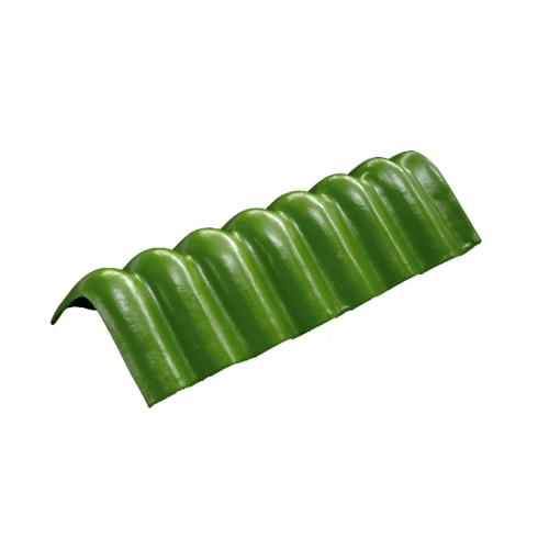 โอฬาร ครอบเพิงแหงน 54x15x15 ซม. ลอนเล็ก สีเขียว