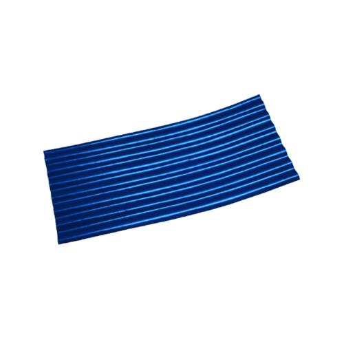 โอฬาร ลอนเล็กปลายงอน 1.20ม. (ซ้าย-ขวา) สีฟ้าน้ำทะเล