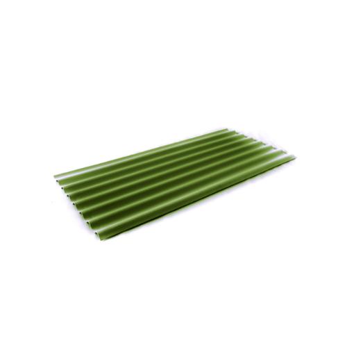 โอฬาร กระเบื้อง4x150ซม.(ลูกโลก)สีเขียววาสนา ลอนเล็ก