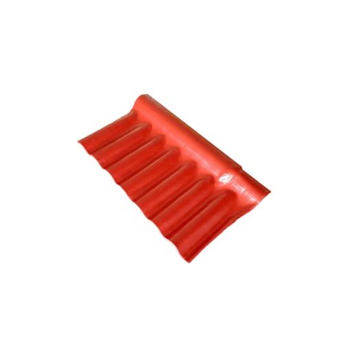โอฬาร ครอบปรับมุมลอนเล็กตัวล่าง ขนาด 54x28ซม.  สีแดงประกายทับทิม