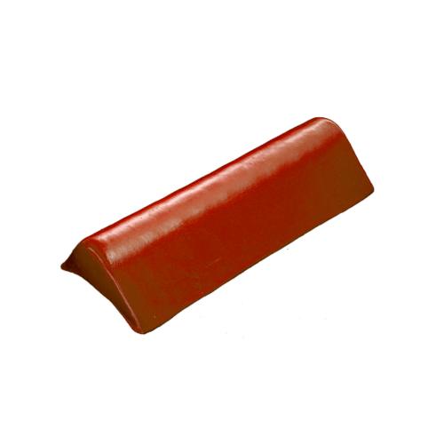 โอฬาร ครอบข้างปิดชายเล็ก(สั้น) ใยหิน (ลูกโลก) สีแดงอรุณรุ่ง ลอนเล็ก