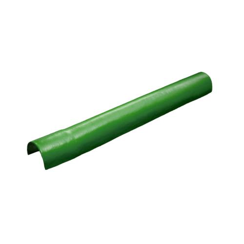 โอฬาร หัวปิดครอบตะเข้ สีเขียวหยก (ลูกโลก) ลอนเล็ก
