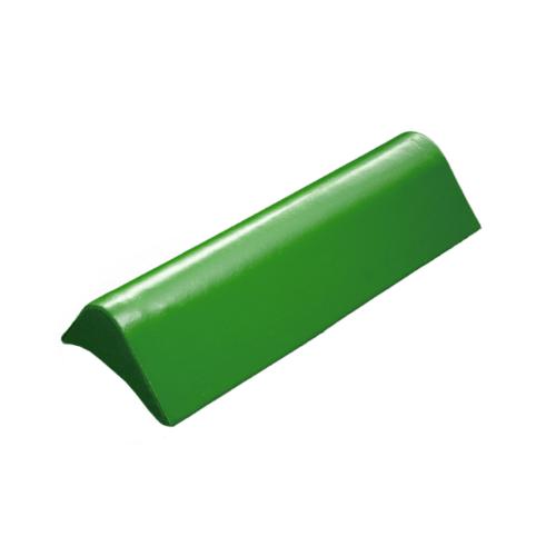 โอฬาร ครอบข้างปิดชาย(สั้น) สีเขียวหยก (ลูกโลก) ลอนเล็ก