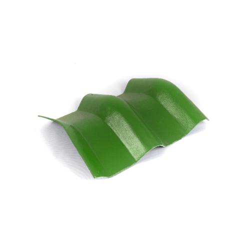โอฬาร ครอบมุม 20 องศา สีเขียวหยก (ลูกโลก) ลอนคู่