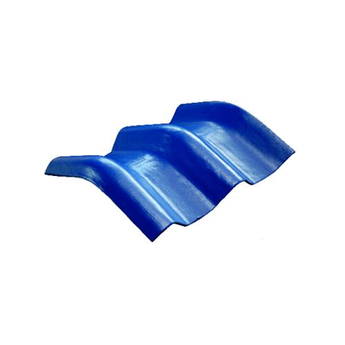 โอฬาร ครอบมุมลอนคู่ 20 องศา 50*45 ซม.(ลูกโลก) สีฟ้าเลิศนภา ลอนคู่ สีฟ้า
