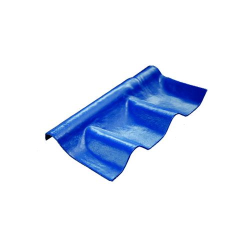 โอฬาร ครอบปรับมุมลอนคู่ตัวบน 57*29 ซม.(ลูกโลก) สีฟ้าเลิศนภา ลอนคู่ สีฟ้า