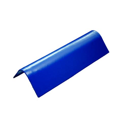 โอฬาร ครอบข้างเล็ก(สั้น) 90 องศา ใยหิน (ลูกโลก) สีฟ้าเลิศนภา ลอนเล็ก สีฟ้า