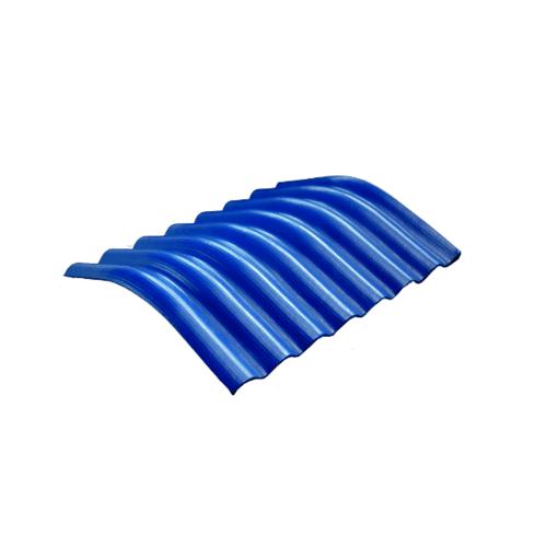 โอฬาร ครอบมุมลอนเล็ก 20 องศา 54*50 ซม.(ลูกโลก) สีฟ้าเลิศนภา ลอนเล็ก