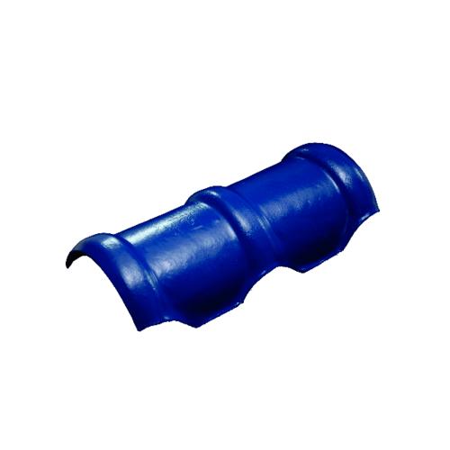 โอฬาร ครอบสันโค้ง 2 ทาง สีฟ้าเลิศนภา (ลูกโลก) ลอนคู่