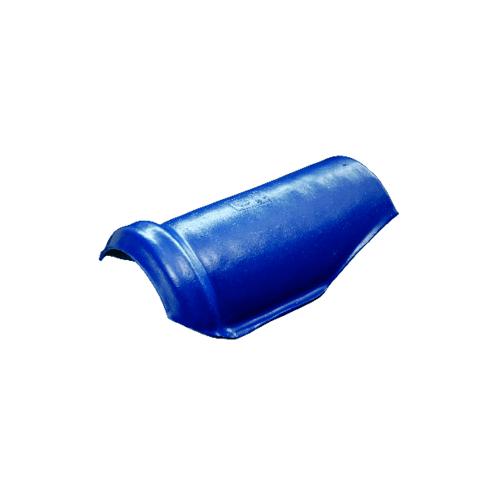โอฬาร ครอบสันโค้งตะเข้ สีฟ้าเลิศนภา (ลูกโลก) ลอนคู่