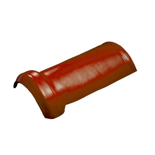 โอฬาร ครอบสันโค้งเล็ก ใยหิน ลอนเล็ก สีแดง