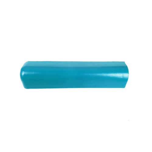 โอฬาร ครอบปิดชายคู่/เล็ก (ยาว)ใยหิน (ลูกโลก) สีฟ้าสดใส ลอนเล็ก สีฟ้า