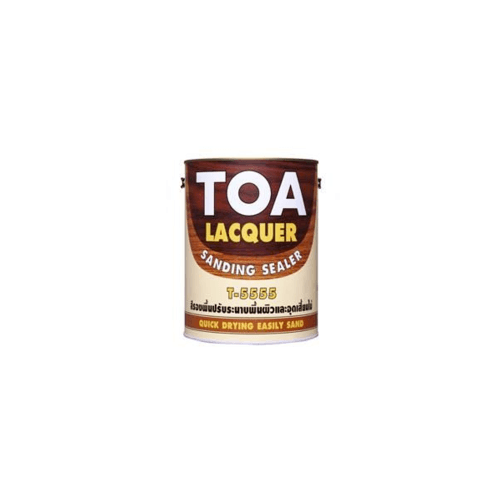 TOA  แลคเกอร์แซนดิ้งซิลเลอร์ ขนาด 5GL 1103108555501