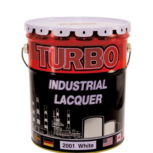 TURBO สีพ่น 5 กล. #2001