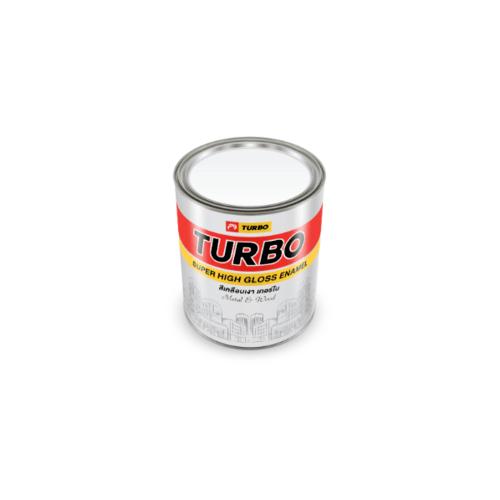 TURBO สีเคลือบเงา  #8463 Coral Red 1/4 กล.