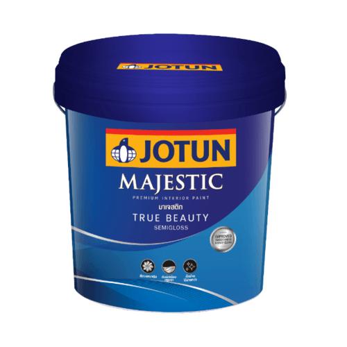 JOTUN มาเจสติก ทรูบิวตี้ กึ่งเงา เบส บี 9 ลิตร ใหม่ -