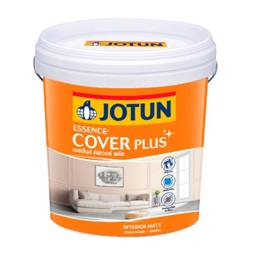 Jotun  เอสเซ้นส์ คัฟเวอร์ พลัส ด้าน  เบส เอ. 9ลิตร สีขาว