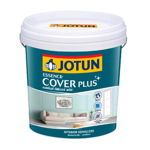 Jotun  เอสเซ้นส์ คัฟเวอร์ พลัส กึ่งเงา  เบส เอ 9ลิตร สีขาว