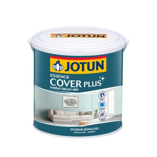 Jotun  เอสเซ้นส์ คัฟเวอร์ พลัส กึ่งเงา เบสบี 3.6ลิตร Essence Cover Plus สีขาว