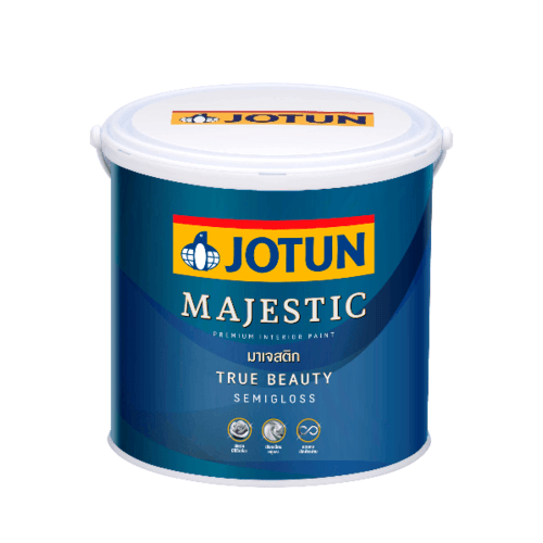 JOTUN มาเจสติก ทรูบิวตี้ กึ่งเงา เบส ซี 3.6 ลิตร MAJESTIC TRUE BEAUTY SG C BASE 3.6L