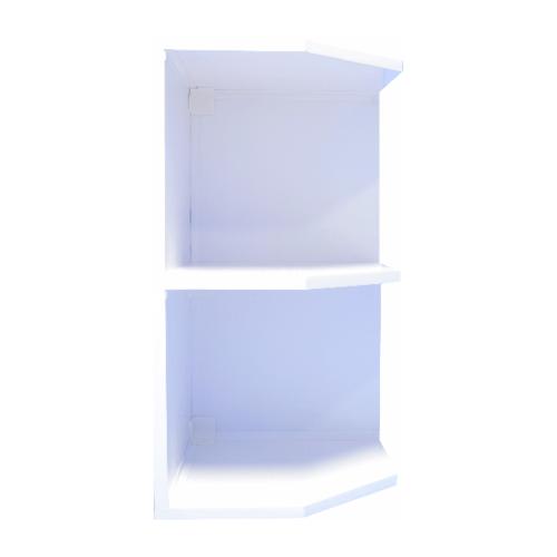 REINIGER ชั้นเข้ามุมขวา(UV) WR35/ขาว WR35 ขาว