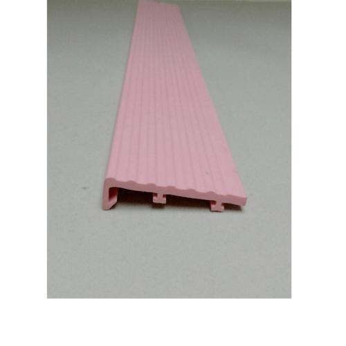 - จมูกบันได ขนาด 3ม. สีชมพูเข้ม344 WL50